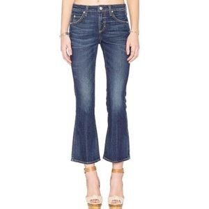 Amo Jane Crop Jean in True Blue SIZE 24